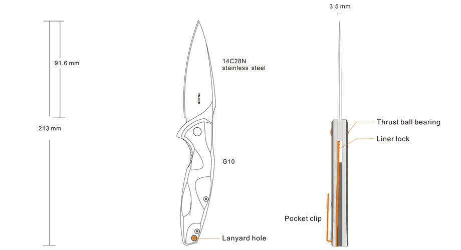 Knife Functions – Fang P105