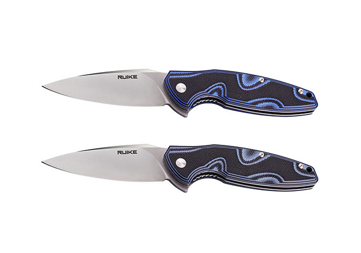 Knives P105 (Blue/Black and Light Blue/Black)