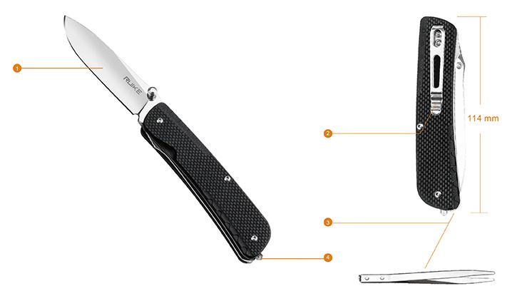 Knife Functions – Trekker - LD11-B