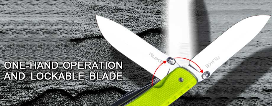 Knife Features – Lockable Blade – LD43
