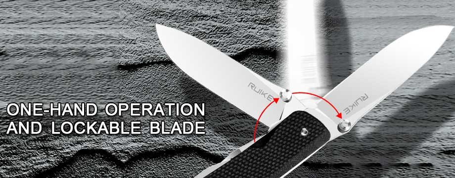 Knife Features – Lockable Blade – All LD Series products