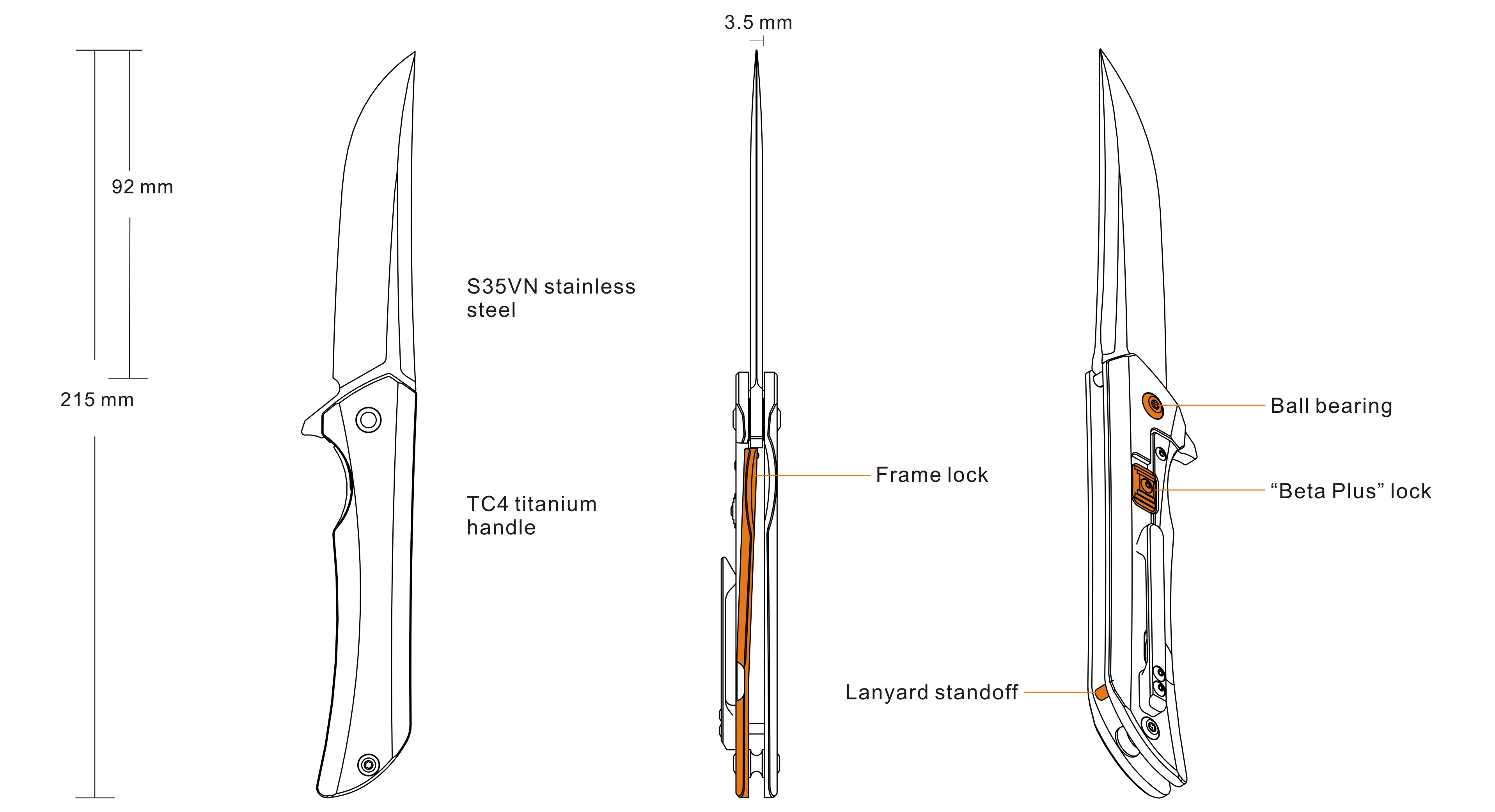 Knife Functions – Hussar M121-TZ